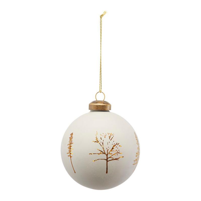 House Doctor Woods Ornament Grå