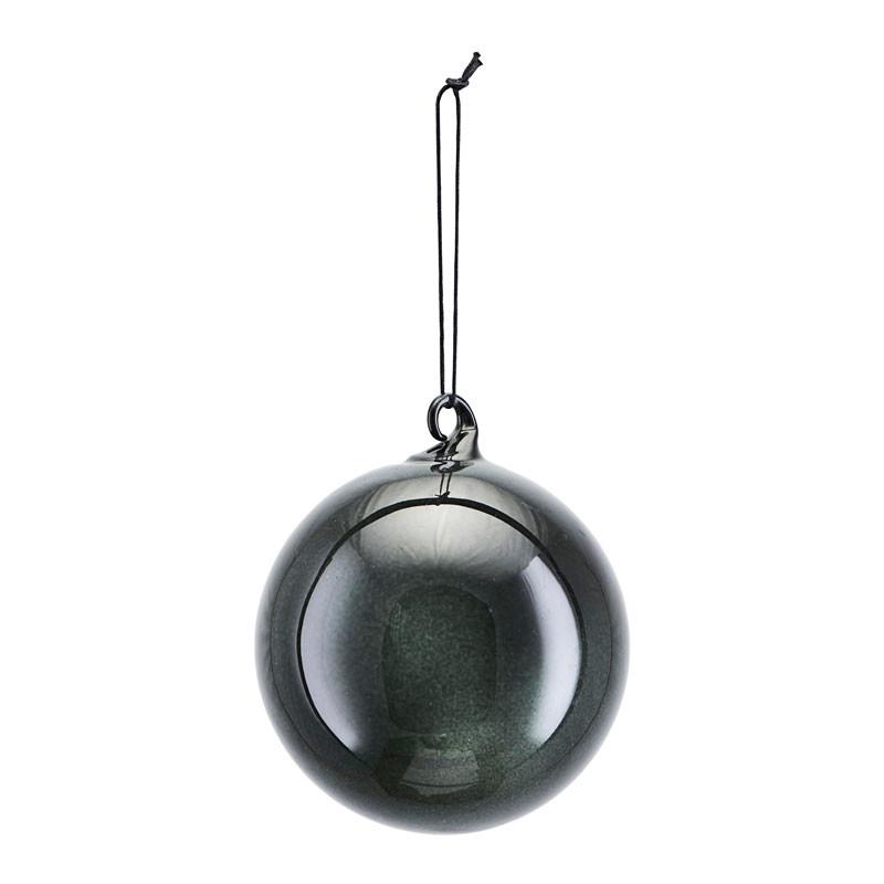 House Doctor All Glass Kugle Mørkegrå Ø 12 cm