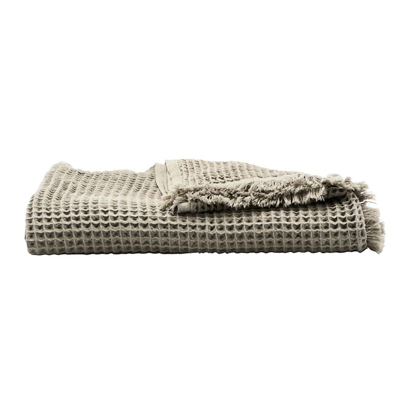 House Doctor Plaid Light Grey