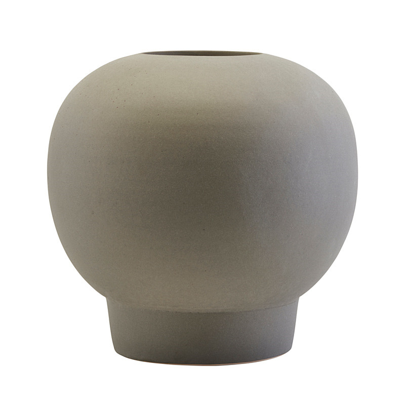 House Doctor Bobble Vase Dark Grey