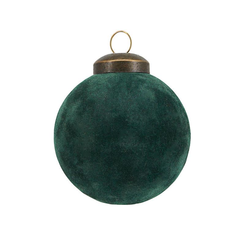 House Doctor Flock Ornament Mørkegrøn Ø 5,5 cm