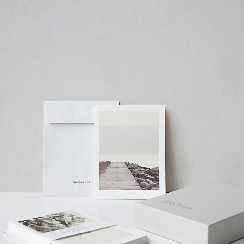 Monograph Year Noteskort