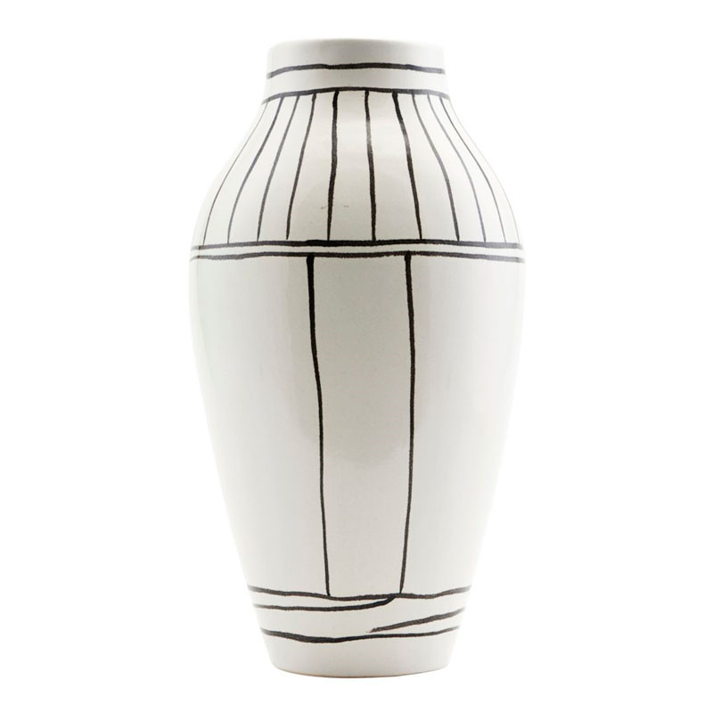 House Doctor Outline Vase White