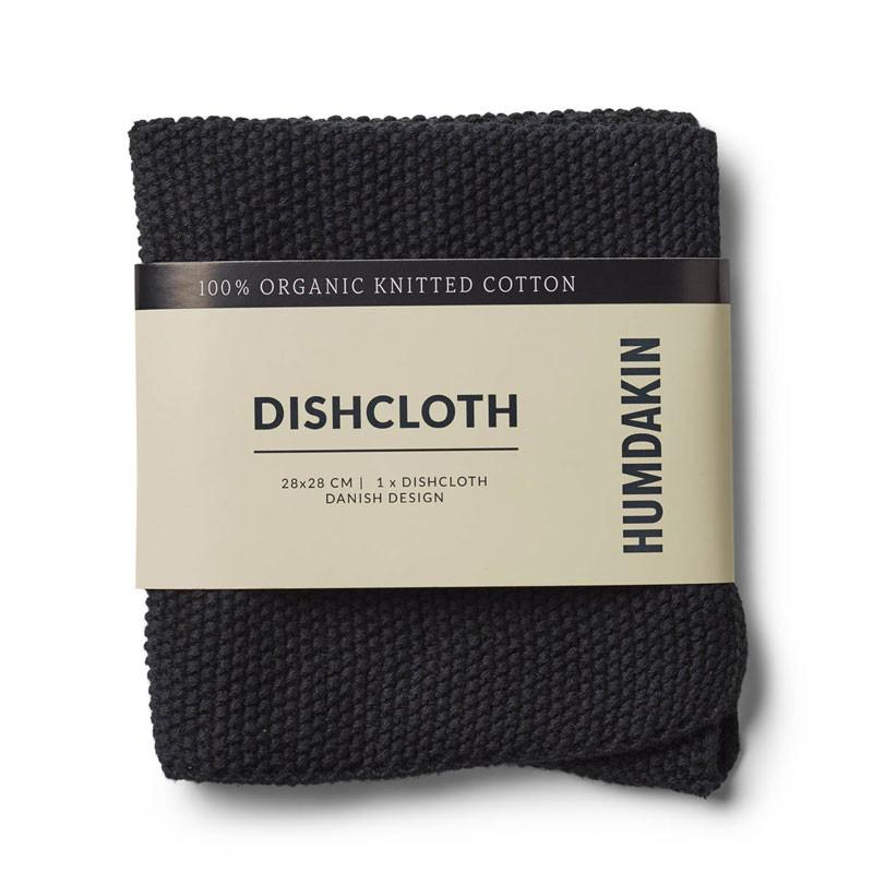 Humdakin Knitted Dishcloth Coal
