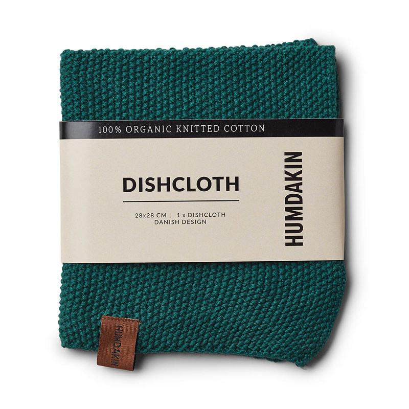 Humdakin Knitted Dishcloth Dark Wood