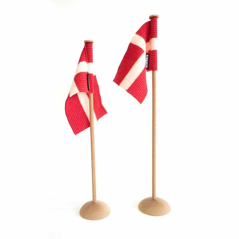 Linedyr Bordflag