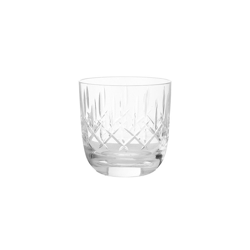 Louise Roe Crystal Whiskey Glass Clear
