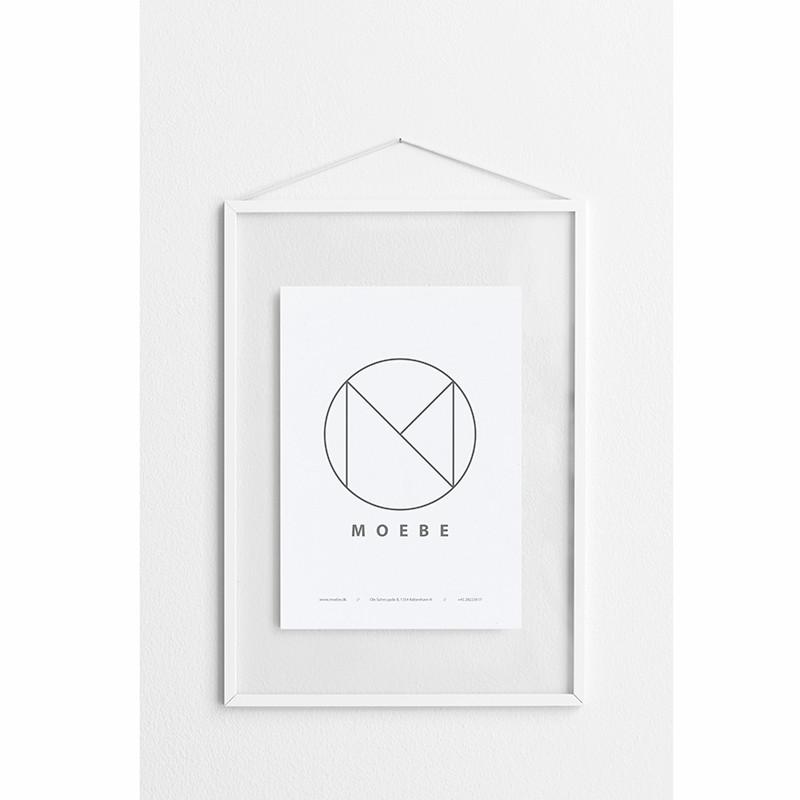 Moebe White Frame A3