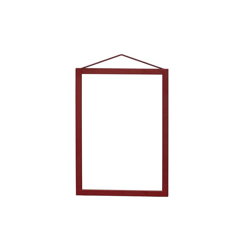 Moebe Deep Red Frame A5