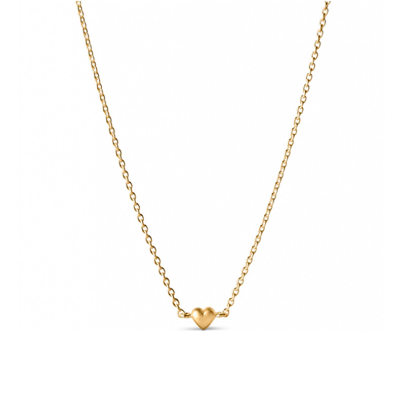 Enamel Copenhagen Little Love Necklace Gold-Plated