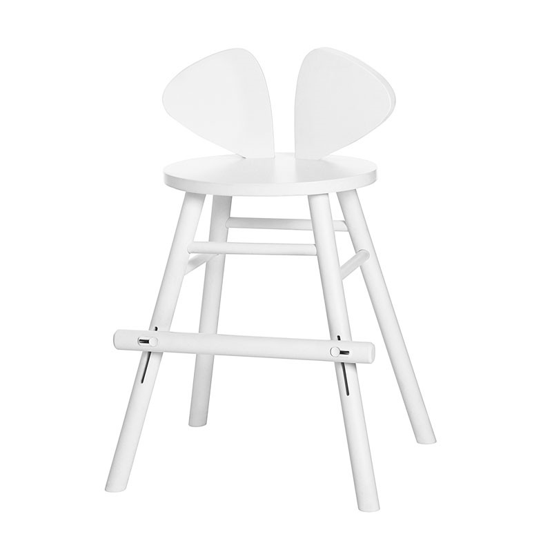Nofred Mouse Junior High Chair White