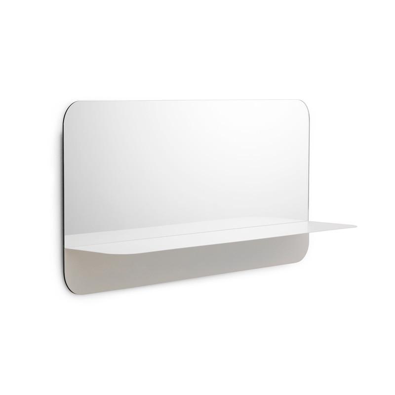 Nomann Cph Horizon Mirror Horizontal White