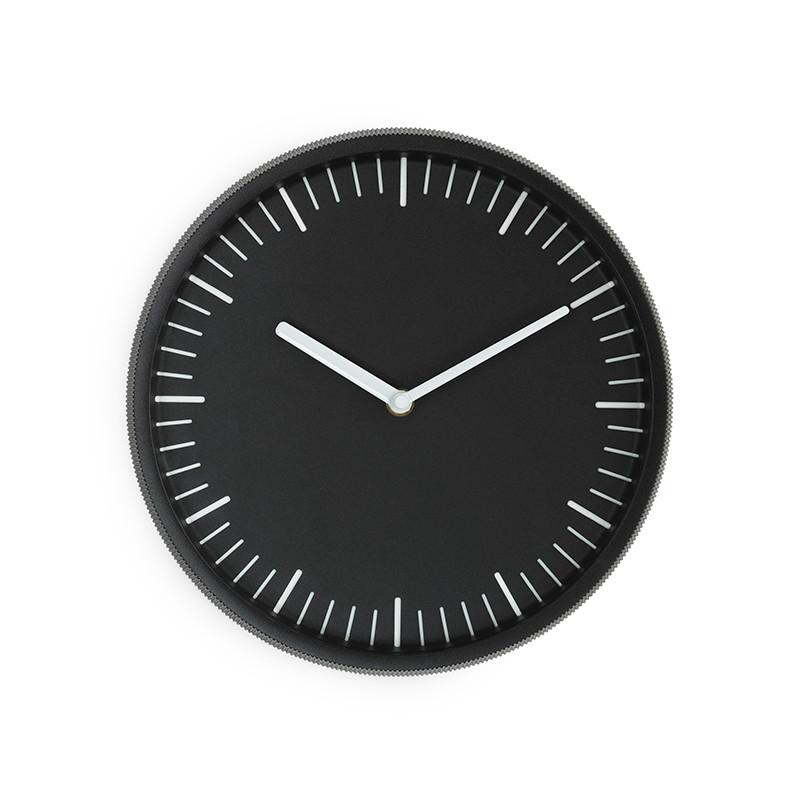 Normann Cph Day Wall Clock Black