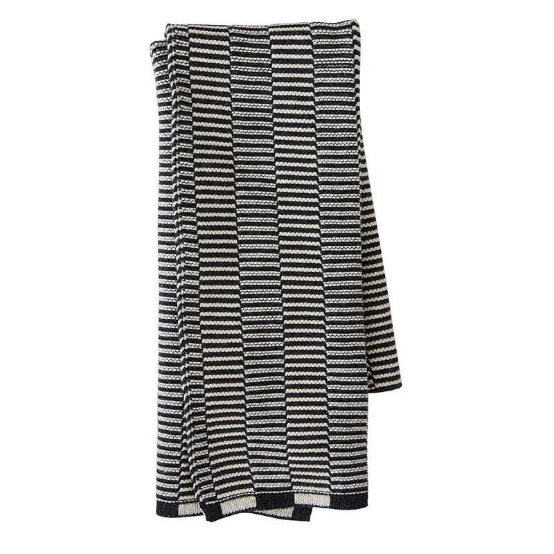OYOY Stringa Mini Towel Offwhite/Anthracite