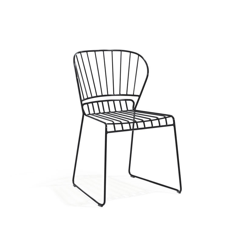 Skargaarden Resö Chair Charcoal Grey