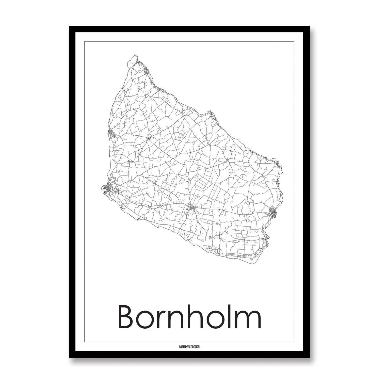 Rosenkvist Design Bornholm Plakat