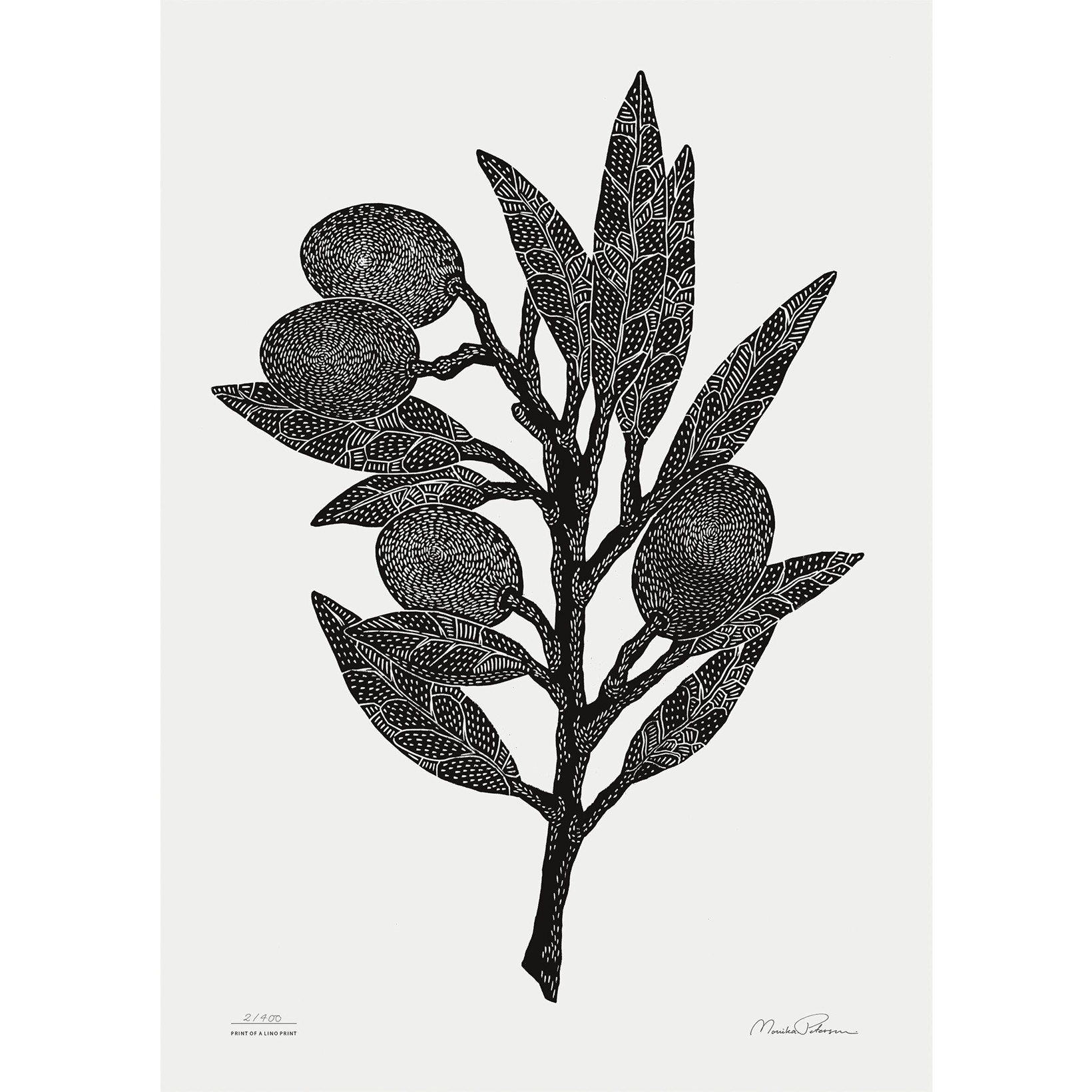 Monika Petersen Olive Branch Black