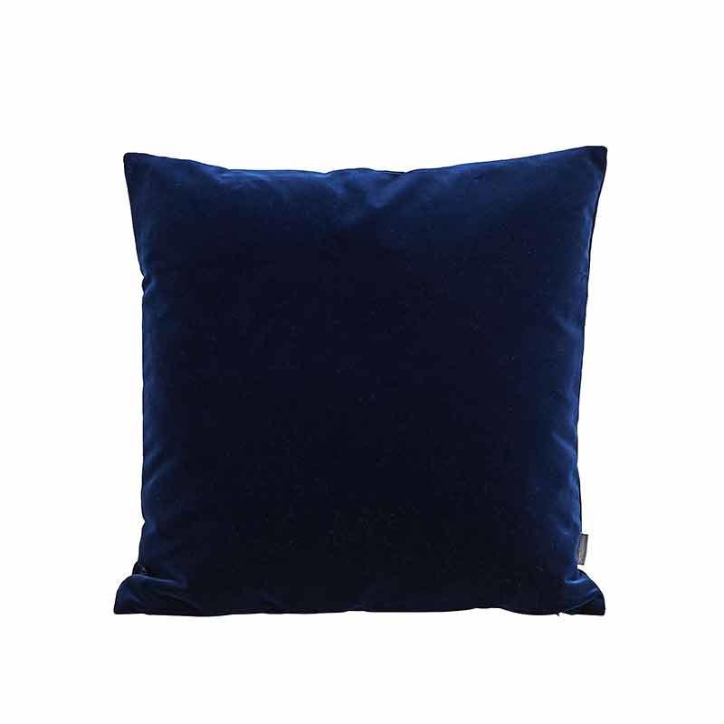 Semibasic LUSH Velour Cushion Blue 45 x 45