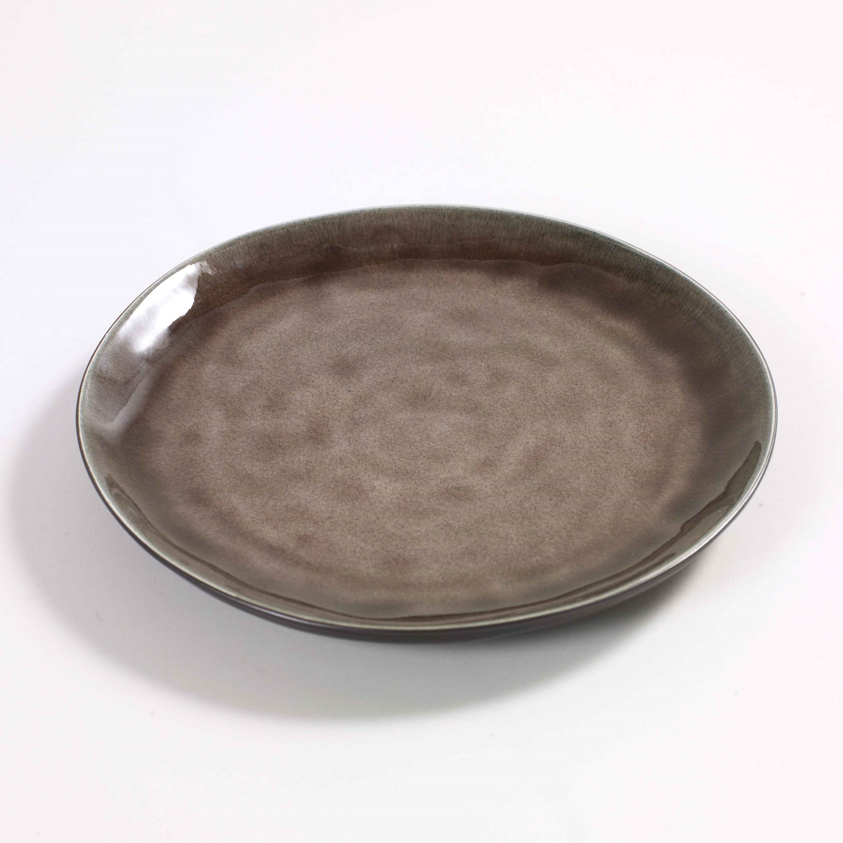 Serax Round Plate Brown