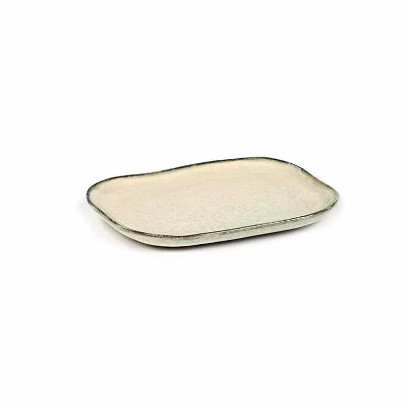 Serax Merci Rectangular Plate No. 3 M Off White