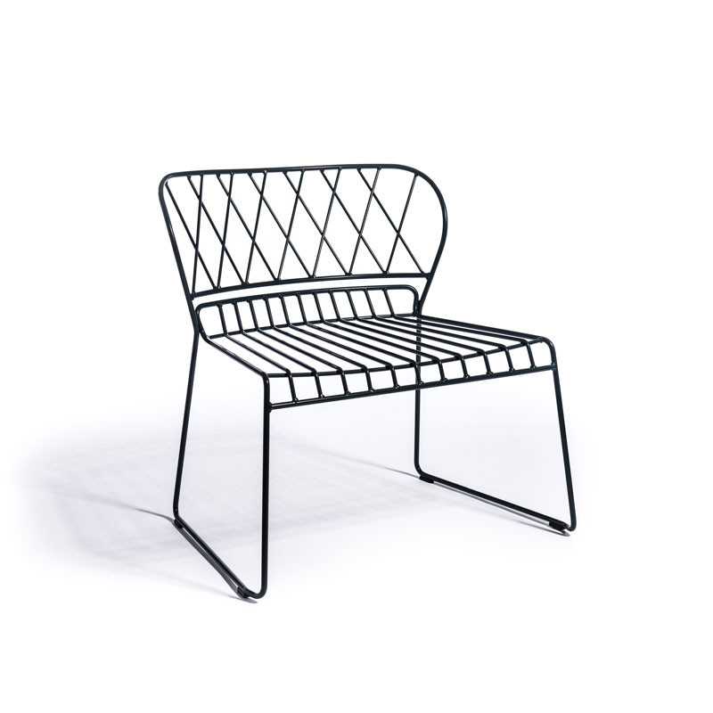 Skargaarden Resö Lounge Chair Black