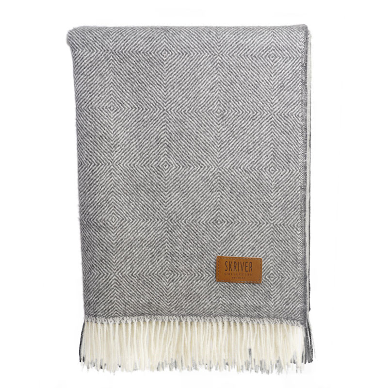Skriver Collection Baby Alpaca Plaid Herringbone