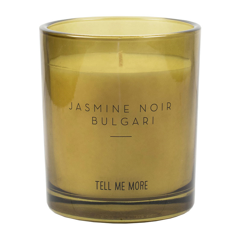 Tell Me More Scented Candle Noir Jasmine Noir Bulgari