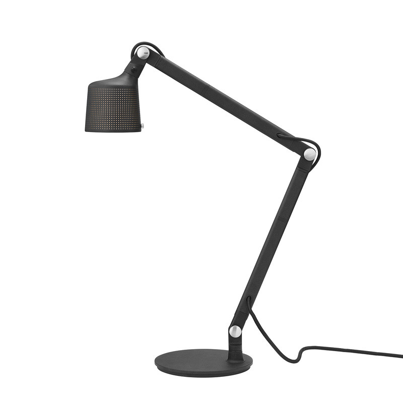 Vipp 521 Bordlampe Sort