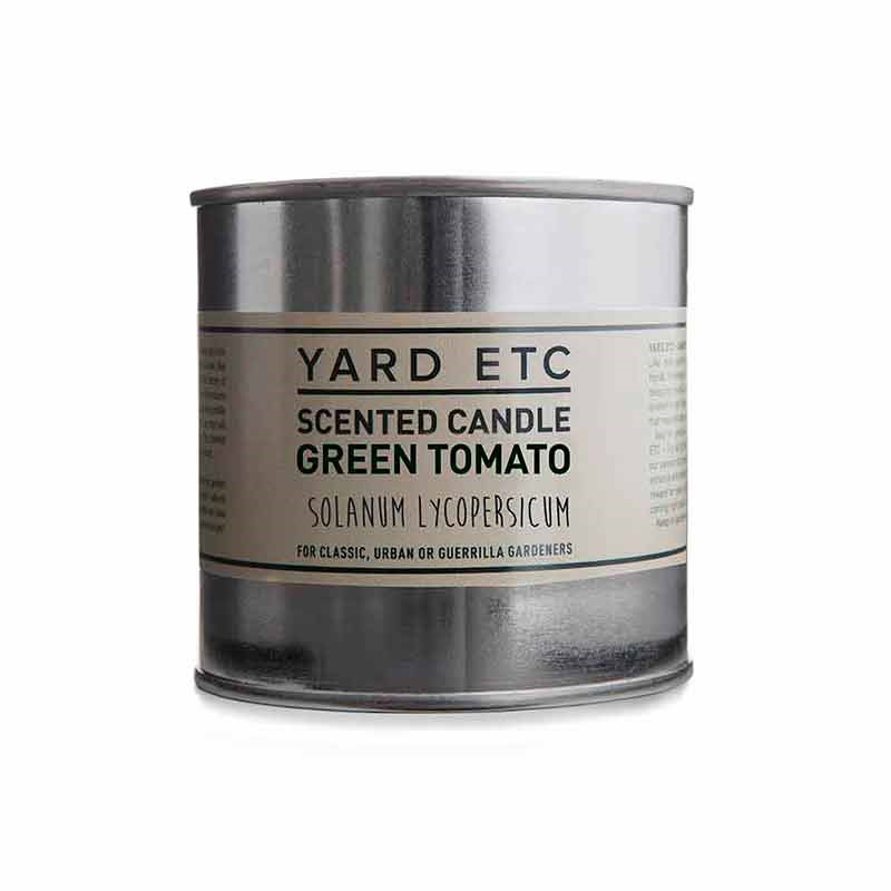Yard Etc Scented Candle Green Tomato
