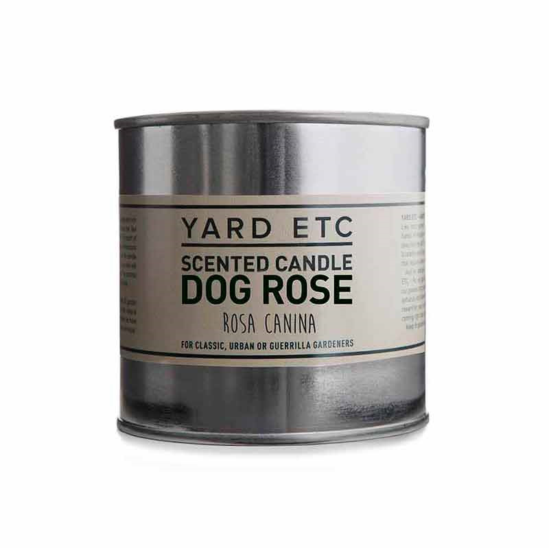 Yard Etc Scented Candle Dog Rose