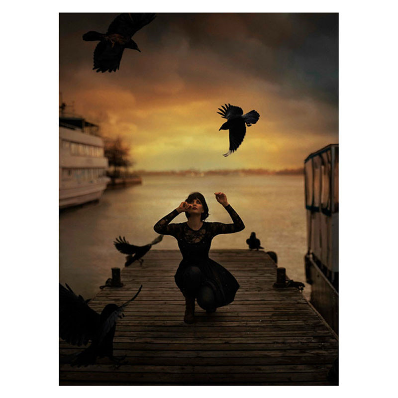 Walnut Street Raven Plakat
