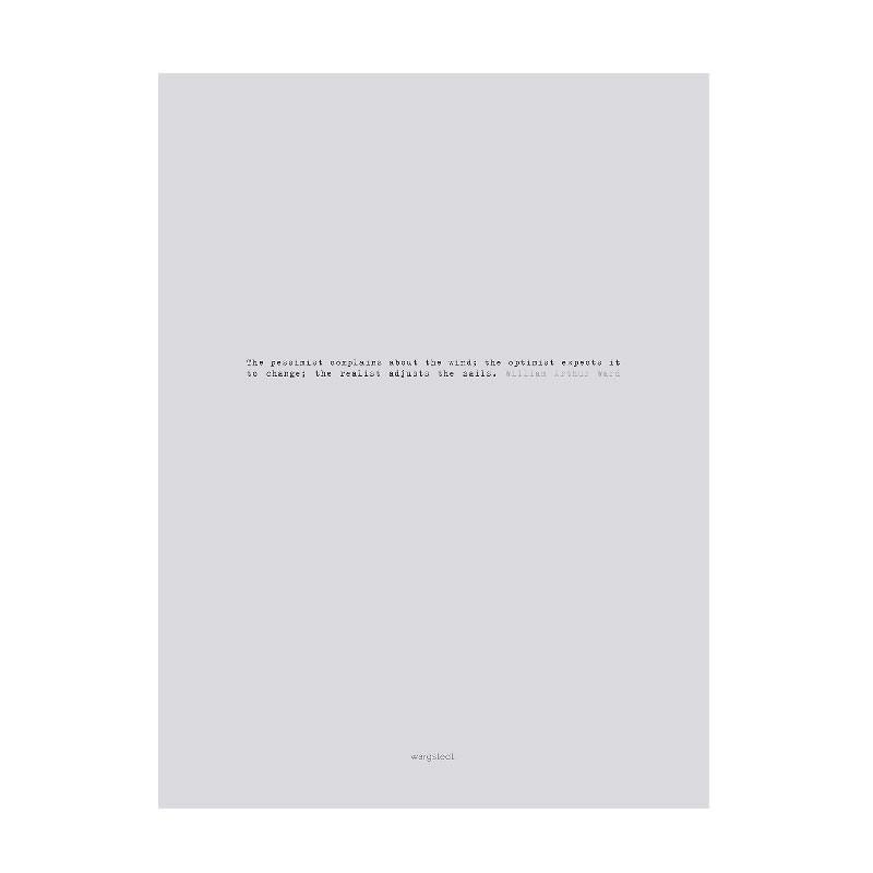Wargstedt Clean Grey Plakat