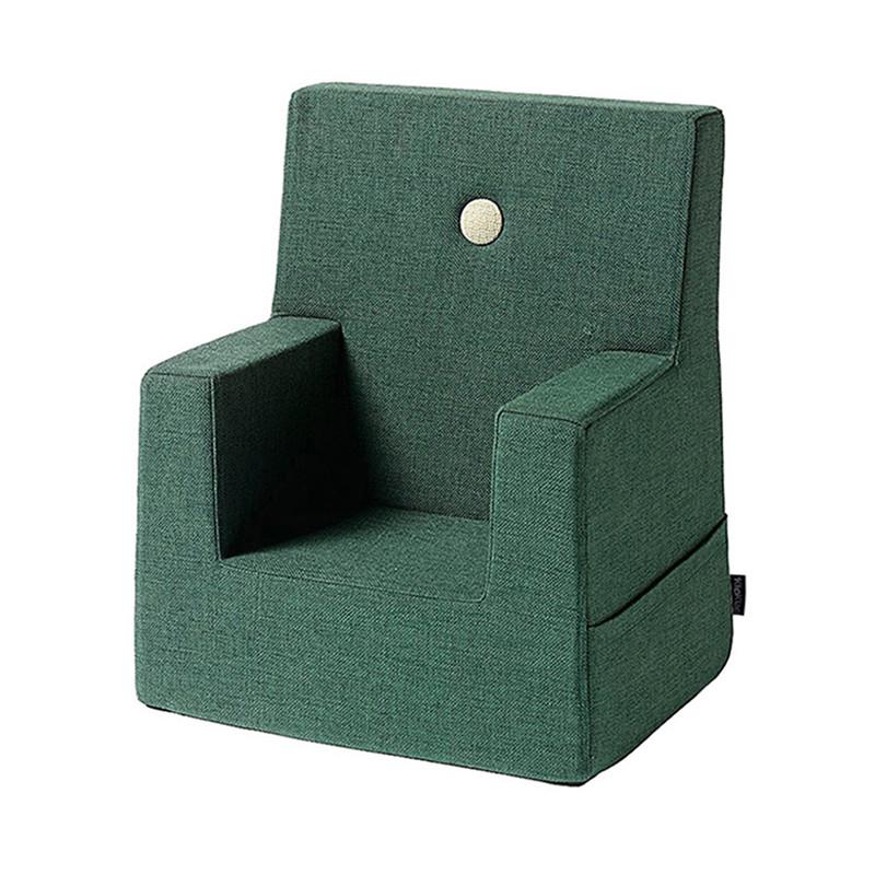 By KlipKlap Kids Chair Deep Green W. Light Green