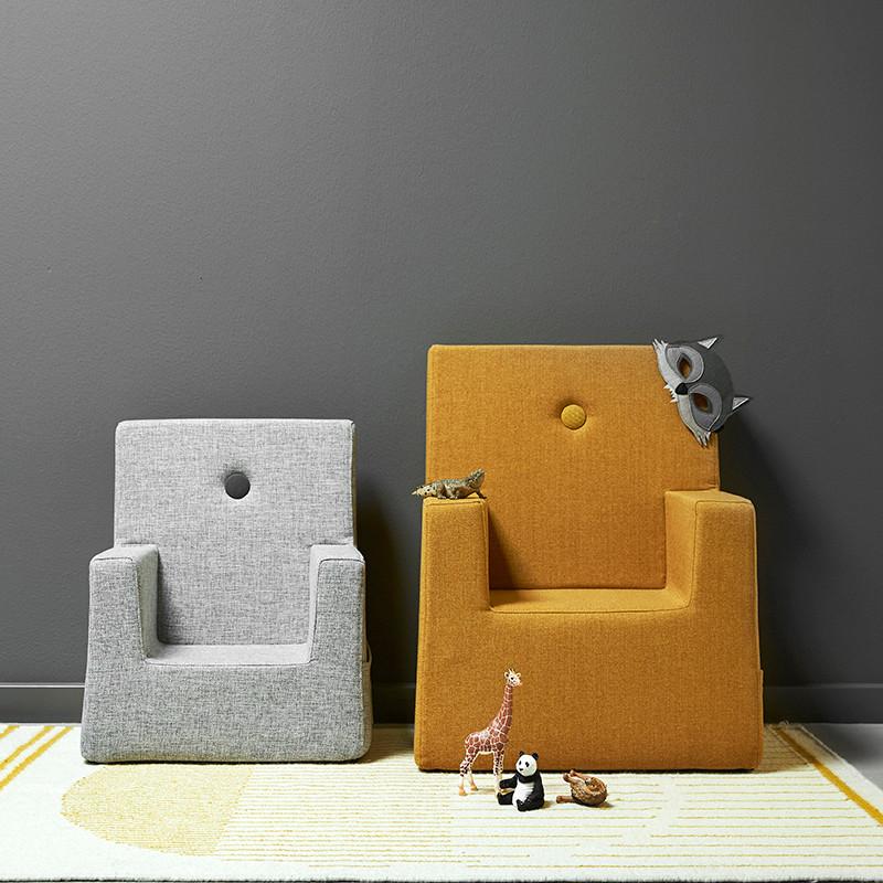 By KlipKlap Kids Chair Multi Grey W. Grey