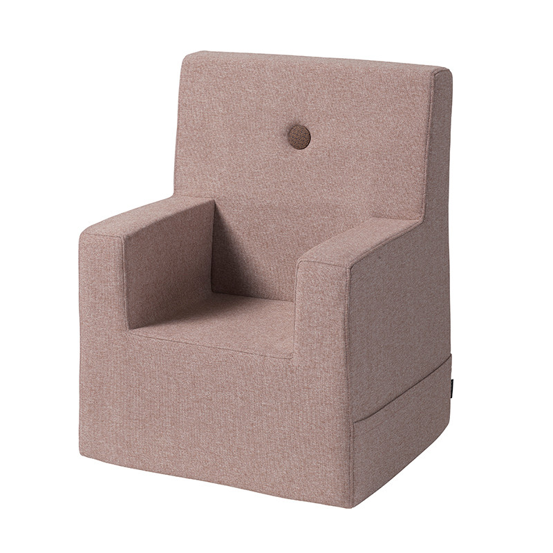 By KlipKlap Kids Chair XL Soft Rose W. Rose