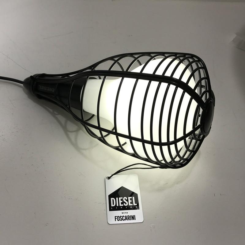 Foscarini Diesel Cage Mic Sort Udstillingsmodel