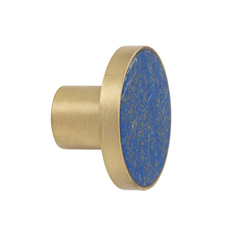 Ferm Living Stone Hook Blue Lapis Lazuli Large