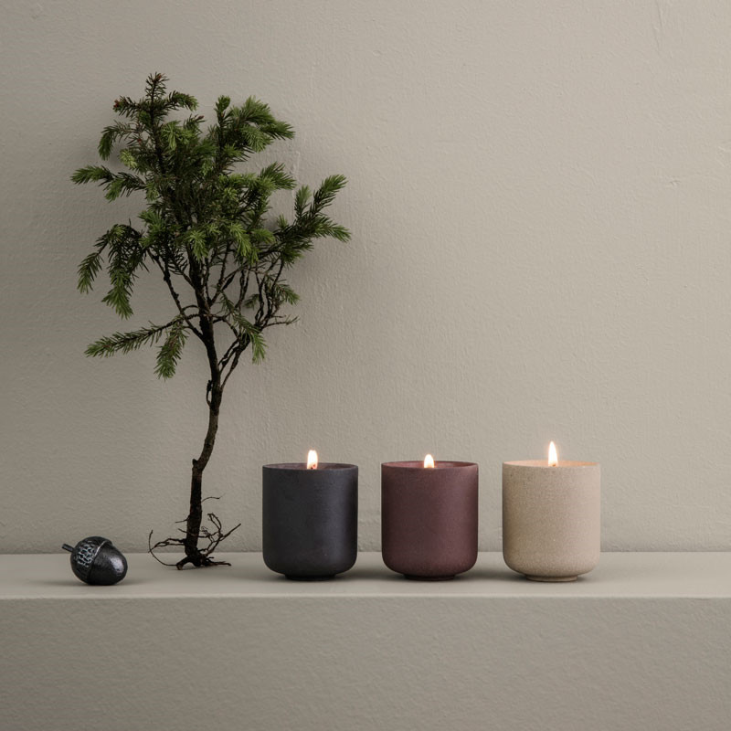 Ferm Living Sekki Scented Soy Candles