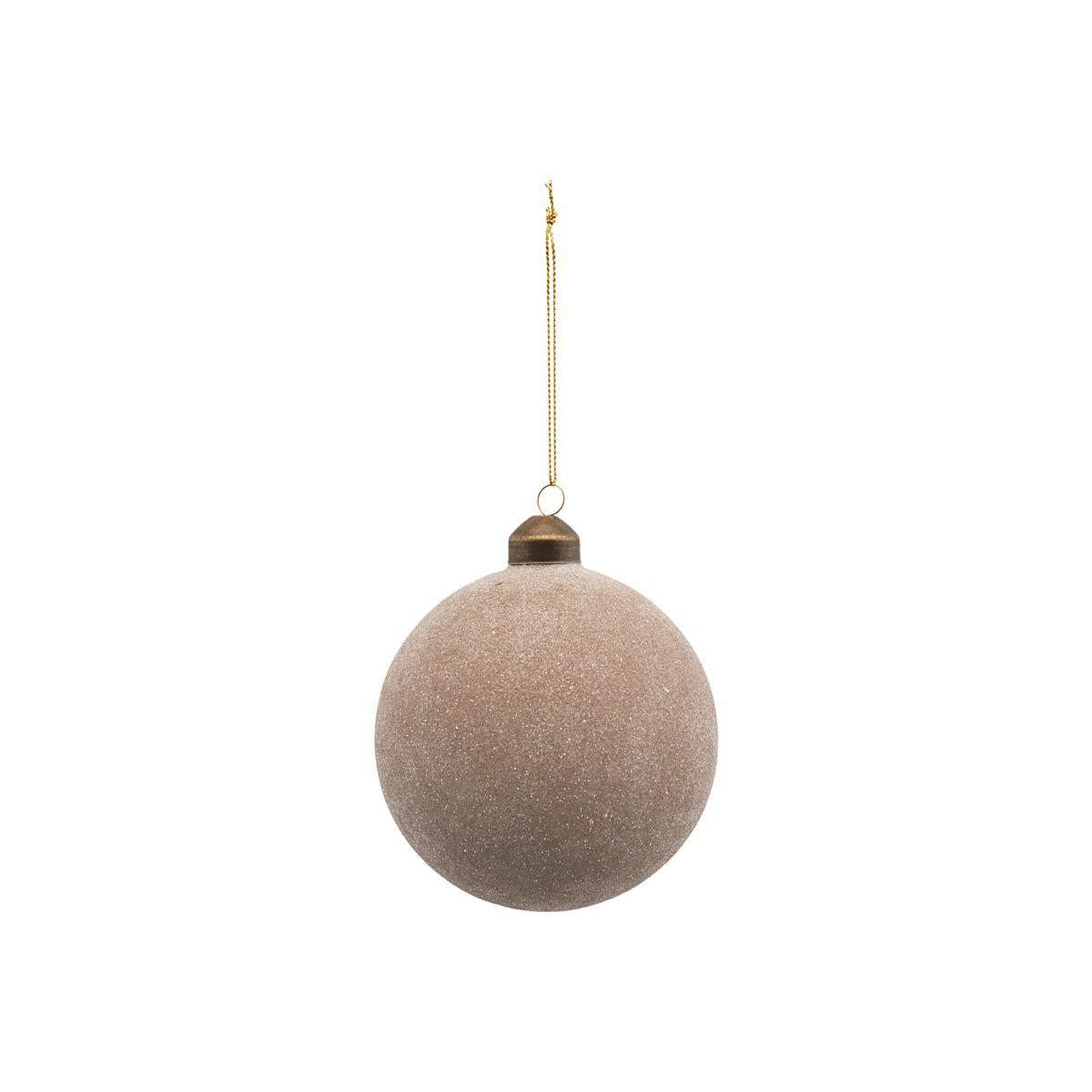 House Doctor Glittery Ornament Sand Ø 10 cm