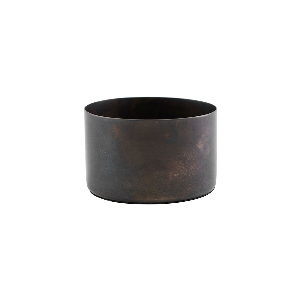 House Doctor Define Candle Stand Antique Brown
