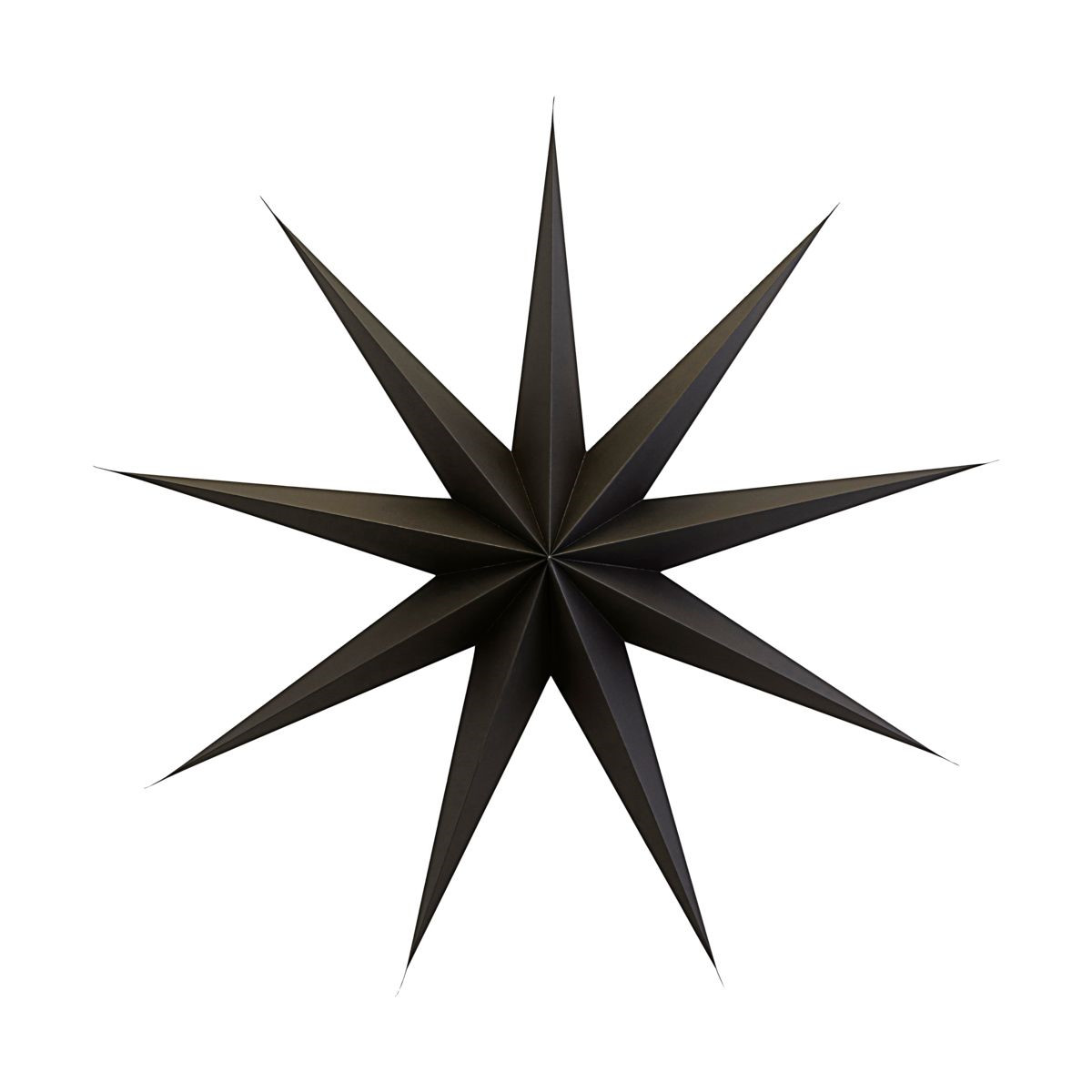 House Doctor Ornament 9 Point Star Brown Ø 87 cm