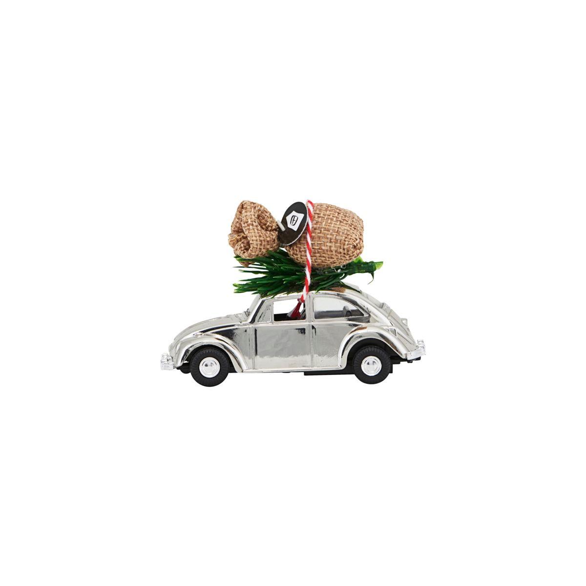 House Doctor Mini Xmas Car Chrome