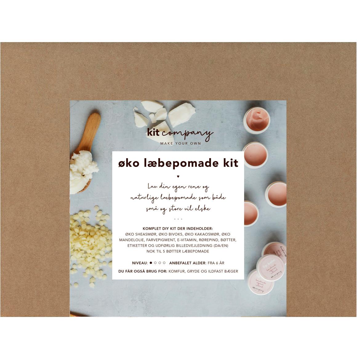 Kit Company Økologisk Læbepomade Kit