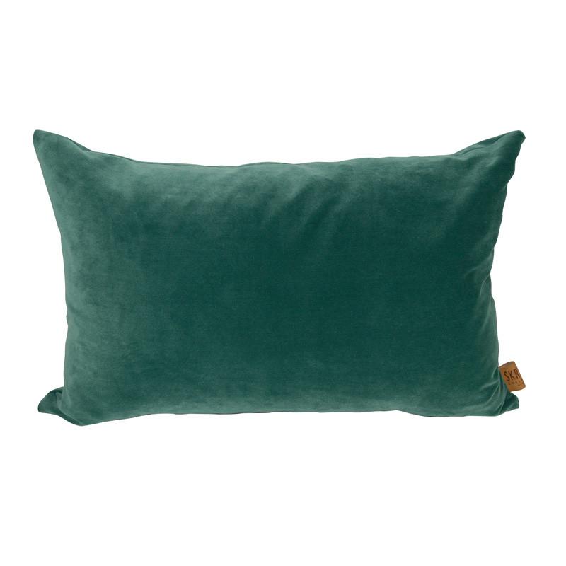 Skriver Collection City Velvet Cushion Green