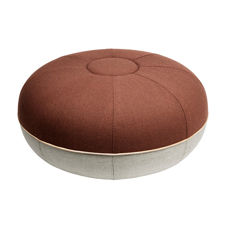Fritz Hansen Puf Stor Dark Orange