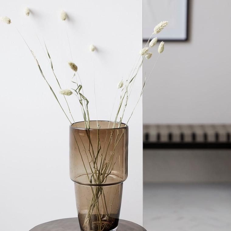 House Doctor Vase Chazia Brown