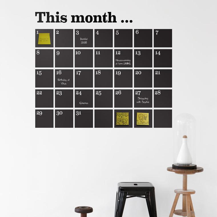 Ferm Living Kalender Wallsticker