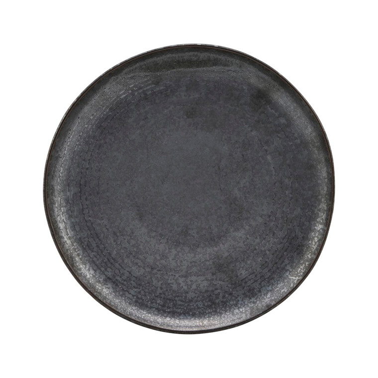 House Doctor Pion Lunch Plate Black/Brown