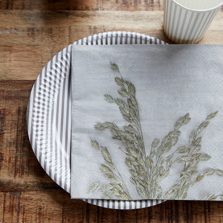 House Doctor Napkins Grass 1 Light Grey