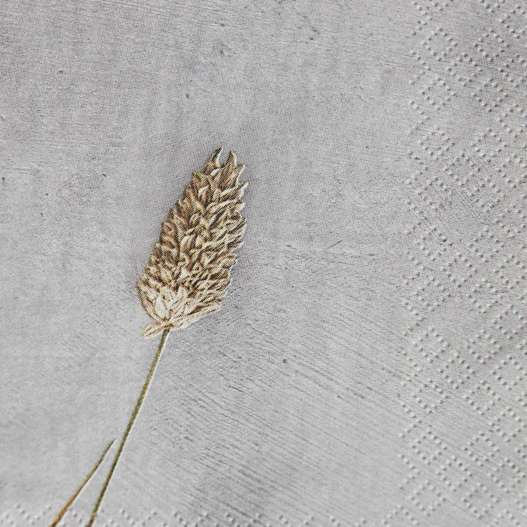 House Doctor Napkins Grass 2 Light Grey